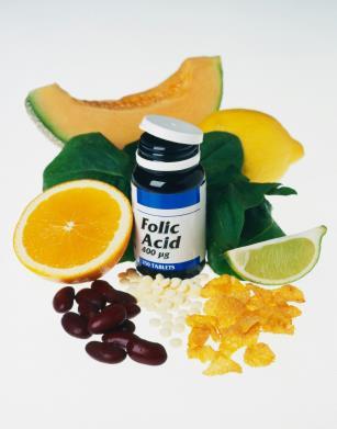 Витамины для беременных: Фолиевая кислота.